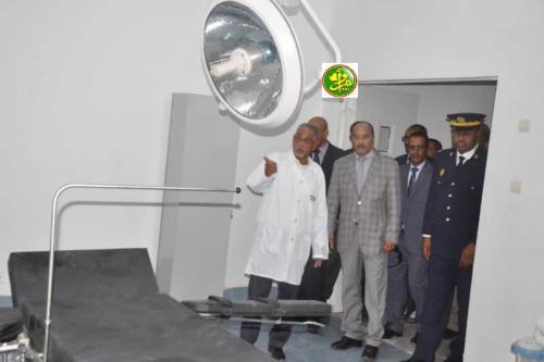 Le Président de la République inaugure un centre hospitalier de Néma