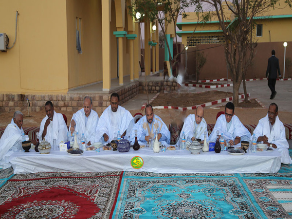 La présidence de la République offre un dîner- Iftar en l'honneur des maires des Hodhs et de l'Assaba