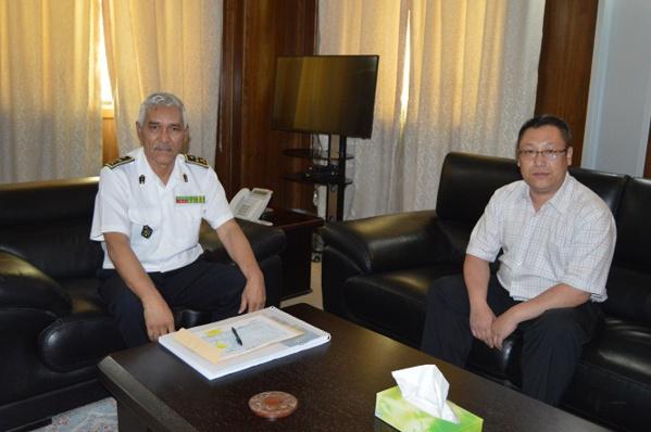 Une délégation chinoise viste l'Etat-major Général des Armées