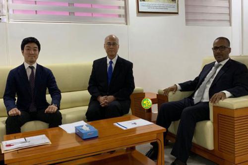 Examen du renforcement de la coopération entre les patronats mauritanien et japonais