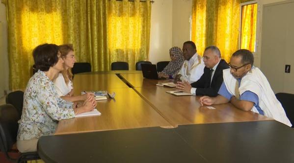 Bouhoubeiny se concerte avec des experts de l'UE sur les élections