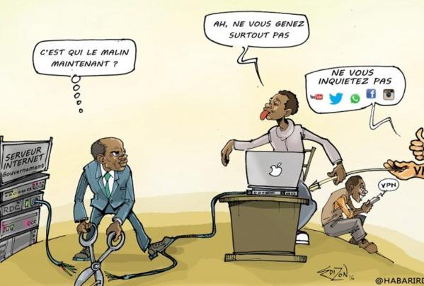 Mauritanie: la coupure d'internet en période d'examen perturbe l'économie