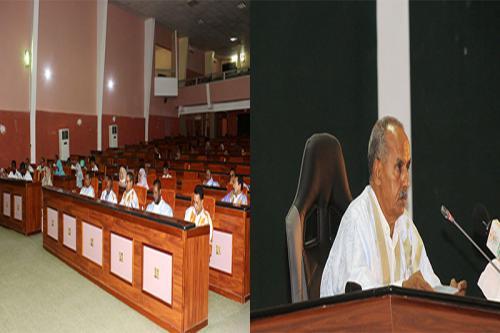 L'Assemblée nationale adopte le projet révisé de son règlement intérieur.