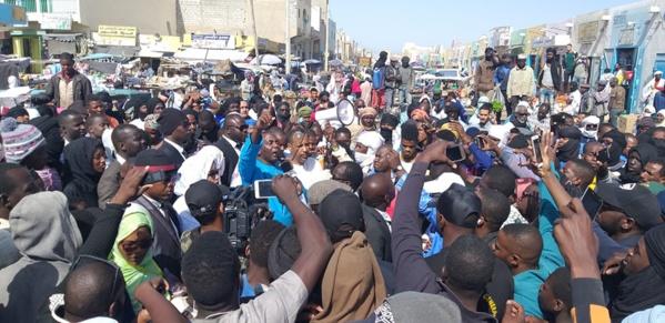 Biram en précampagne : la vague déferlante atteint Nouadhibou