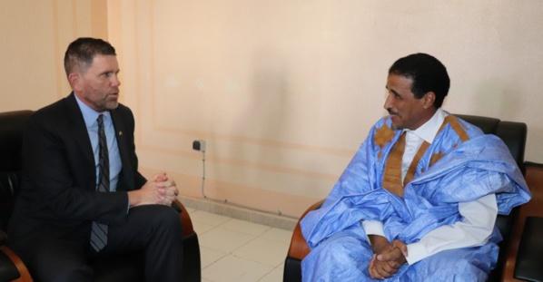 Mauritanie : le candidat O. Maouloud a rencontré l'ambassadeur américain à Nouakchott