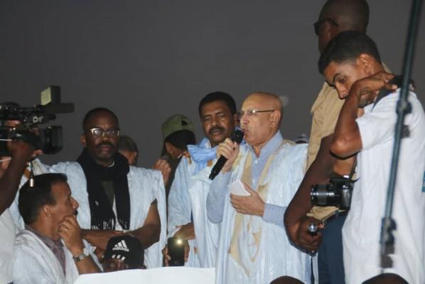 Mauritanie : Le candidat O. Ghazouani promet l'autosuffisance en riz, dans 5 ans.