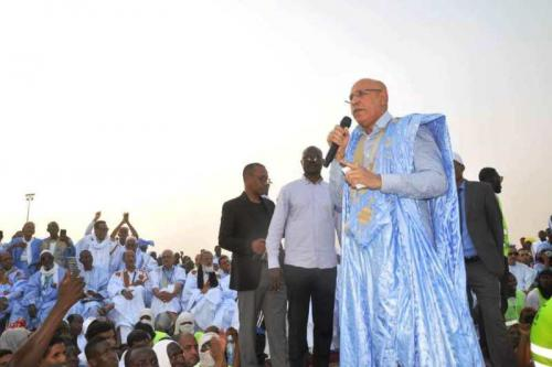 Le candidat Ghazwani déclaré que la Mauritanie, riche par sa diversité ethnique, servira d'espace de tolérance, de paix et de prospérité