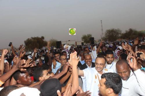 Le candidat Sidi Mohamed Ould Boubacar invite les habitants de Kiffa de se dresser devant le trucage des élections et à voter pour le changement
