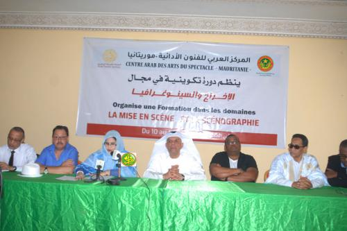Session de formation au profit de 60 acteurs mauritaniens de théâtre