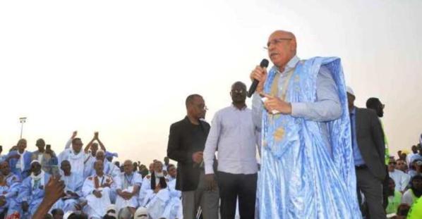 Le candidat Ghazouani évoque le problème du terrorisme et le développement dans l'est de la Mauritanie
