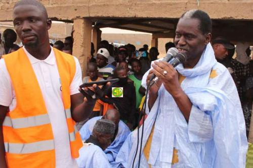 Le Candidat Kane Hamidou Baba préside un meeting à Teydouma relevant de Medbougou