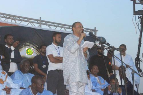 Le Candidat Sidi Mohamed Ould Boubacar Ould Boussalef: Je ne suis pas le candidat d'un parti donné et je ne suis pas soumis à une pression de quiconque