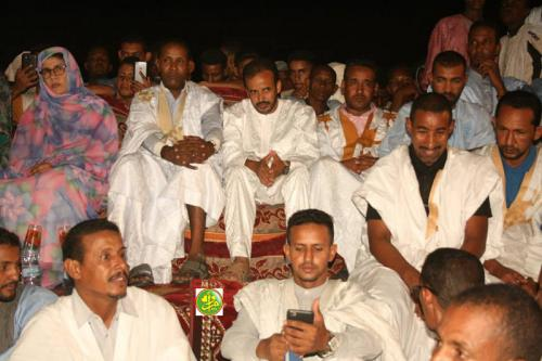 Le candidat Mohamed Lemine El Mourtehi El Wafi se réunit avec ses sympathisants dans la moughataa d'Amourj et visite les commune de Bengou et Jreïf au Hodh Rcharghi