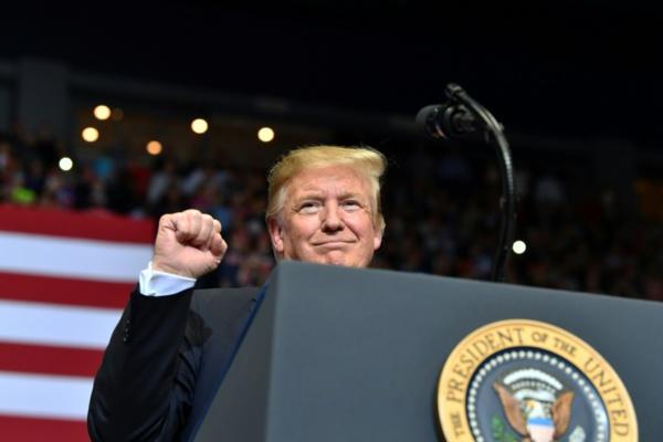 Quatre ans après l'escalator, Trump repart en campagne