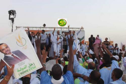 Le candidat Sidi Mohamed Ould Boubacar Ould Boussalef: La wilaya de l'Inchiri est parmi les wilayas les plus riches mais n'a pas bénéficié de l'exploitation de l'or en son sein Akjoujt,  17/06/2019
