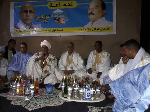 Le staff de la campagne de Ghazouani rencontre « Ijmaa » à Lemden