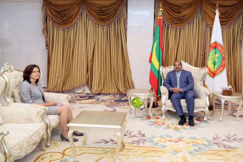 Le Président de la République reçoit les lettres de créance de la nouvelle ambassadrice de la Bulgarie