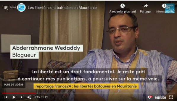 Mauritanie: activistes malmenés