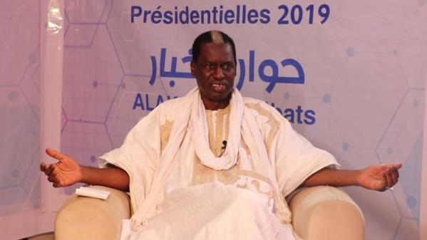 Le candidat Kane Hamidou Baba clôture sa campagne par un meeting à Nouakchott
