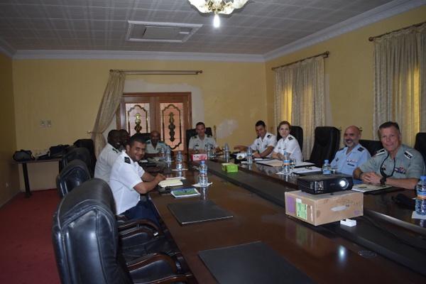 Une délégation militaire de l'OTAN achève sa visite à Nouakchott