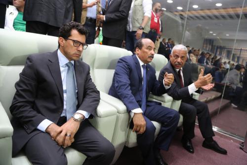Le Président de la République assiste à la rencontre Mourabitoune avec son homologue malienne