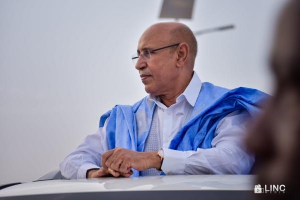 Ghazouani reçoit son équipe de campagne et les chefs de partis qui les soutiennent