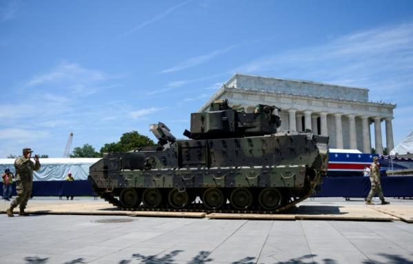 Washington se prépare à une fête nationale du 4 juillet peu ordinaire