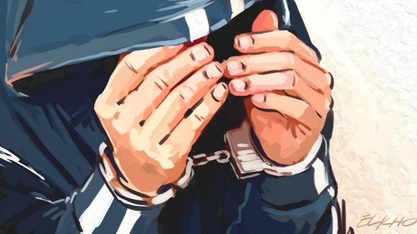 La police traduit une bande d'étrangers accusée de vol en justice