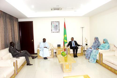 Le Premier ministre reçoit le ministre sénégalais des richesses animales