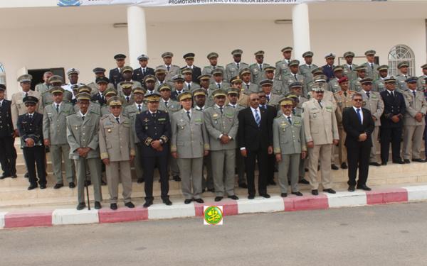 Sortie de la 12ème promotion de l'École nationale d'état-major (2018/2019)
