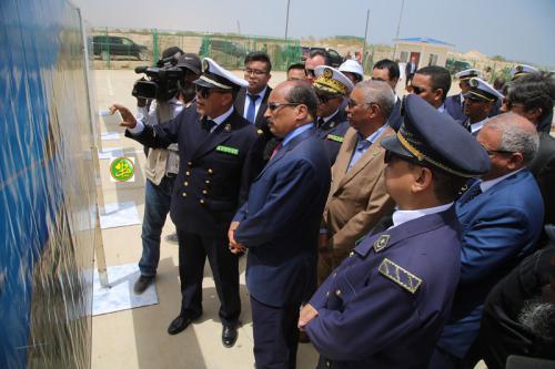 Le Président de la République s'informe sur l'état d'exécution des travaux du port multifonctionnel de N'Diago