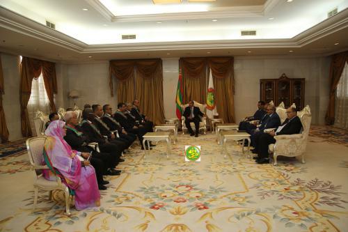 Le Président de la République reçoit les présidents des conseils régionaux
