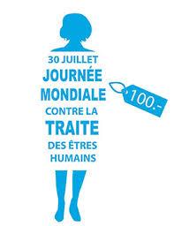 Célébration journée mondiale de lutte contre la traite des personnes