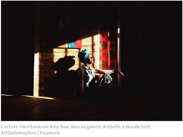 Mauritanie : Amy Sow, les couleurs de la colère