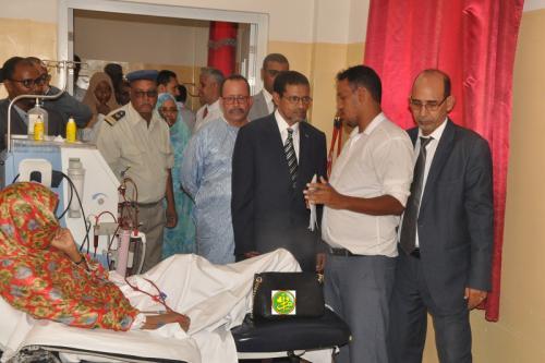 Le ministre de la santé visite des structures sanitaires à Nouakchott