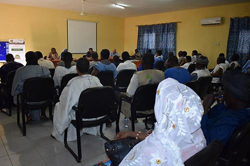 Kaédi : Formation sur l'aménagement de pare-feu et la gestion des banques semencières.