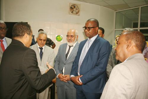Le ministre de la culture visite des directions relevant de son département