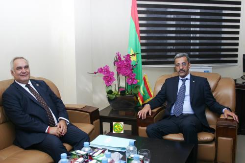 Le ministre du développement Rural reçoit le représentant résident de la Banque Mondiale en Mauritanie