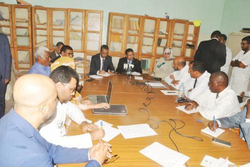 Le ministre de la santé visite certains centres hospitaliers de la capitale