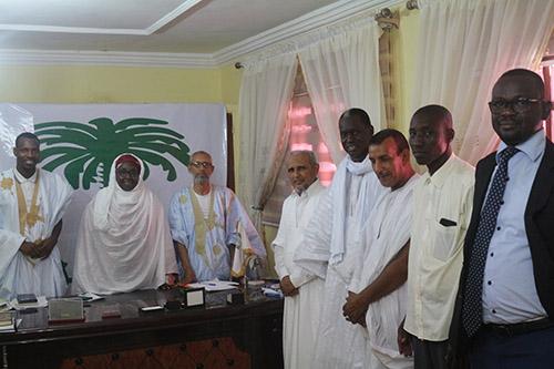 Les leaders de la coalition vivre ensemble en visite chez Tawassoul