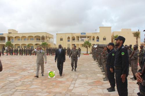 Le ministre de l'Intérieur effectue une visite d'information et de contact à l'Etat-major de la Garde nationale