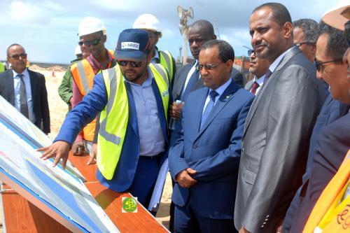 Le ministre de l'équipement effectue une visite d'information au PANPA