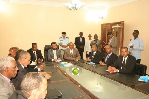 Le ministre des Affaires islamiques visite des directions centrales de son département