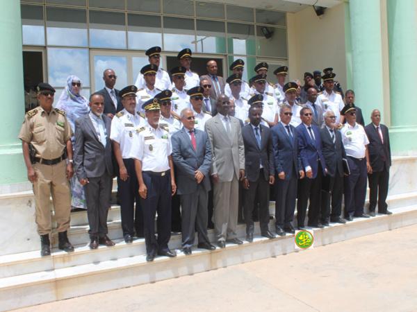 Le ministre de l'Intérieur et de la Décentralisation visite la Direction régionale de la Sureté nationale