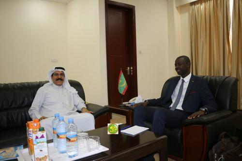 Le président de la zone franche reçoit en audience l'ambassadeur du Koweït