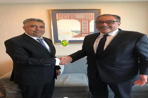Le ministre de l'Economie s'entretient avec le vice-président de la Banque Mondiale