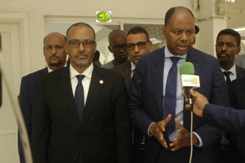 Le ministre de l'emploi se réunit avec les opérateurs économiques à l'UNPM
