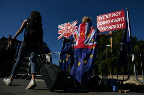 """Brexit : des Britanniques se mobilisent contre le """"coup d'Etat"""" de Boris Johnson"""