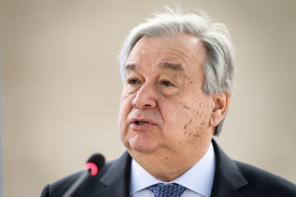 """RDC: Guterres en visite de """"solidarité"""" face à Ebola et aux groupes armés"""