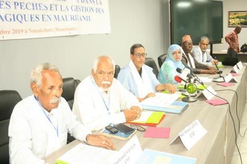 Ouverture d'une conférence sur la transparence dans la gouvernance des pêches et la gestion des petits pélagiques en Mauritanie